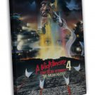 A Nightmare On Elm Street 4 Classci Movie 20x16 FRAMED CANVAS Print