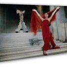 Audrey Hepburn Movie Art Roman Holiday 20x16 Framed Canvas Print