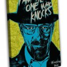 Breaking Bad Tv Series Art Wall Room Decor 20x16 Framed Canvas Print
