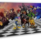 Kingdom Hearts 3 Game Art 20x16 Framed Canvas Print