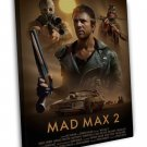Mad Max 2 Australia Movie 1981s Art 20x16 FRAMED CANVAS Print