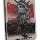 Escape From New York Movie 20x16 Framed Canvas Print