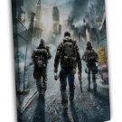 Tom Clancys The Division Game Art Wall Decor 20x16 FRAMED CANVAS Print