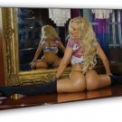 Nicole Coco Austin Sexy Queen Of Pole Dancing 20x16 FRAMED CANVAS Print