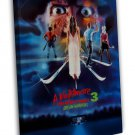 A Nightmare On Elm Street 3 Classci Movie 20x16 FRAMED CANVAS Print