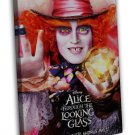 Alice Through The Looking Glass Movie Art Alice In Wonderland 20x16 FRAMED CANVA
