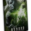 Star Trek Beyond 2 New Movie Huge Jaylah 20x16 Framed Canvas Print