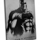 Batman Vs Superman Movie Art Dawn Of Justice 20x16 FRAMED CANVAS Print