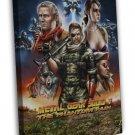 Metal Gear Solid V Game Art Snake Quiet 20x16 Framed Canvas Print