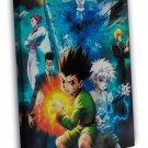 Hunter X Hunter Anime Killua Zoldyck Gon Freecss 20x16 Framed Canvas Print