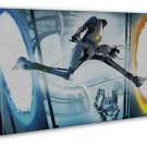 Portal 2 Game 20x16 Framed Canvas Print