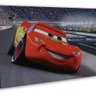 Cars Cartoon Movie Art For Kids Room Decor 20x16 FRAMED CANVAS Print