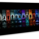 Doctor Who Season 10 Tv Show Art Fabric 20x16 Framed Canvas Print