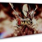 One Punch Man Anime Saitama Genos 20x16 Framed Canvas Print