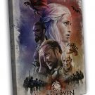 Game Of Thrones Season 5 TV Series Fabric 20x16 FRAMED CANVAS Print