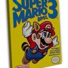 Super Mario Bros 3 Game 20x16 Framed Canvas Print