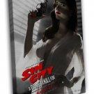 Sin City 2 A Dame To Kill For Art Eva Green 20x16 Framed Canvas Print