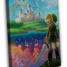 The Legend Of Zelda Twilight Princess Game 20x16 FRAMED CANVAS Print