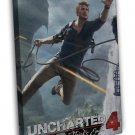 Uncharted 4 A Thiefs End Game Cover Art 20x16 Framed Canvas Print