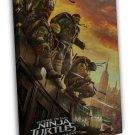 Teenage Mutant Ninja Turtles 2 Out Of The Shadows Movie TMNT 20x16 FRAMED CANVAS