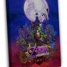 The Legend Of Zelda Majoras Mask Game 20x16 Framed Canvas Print