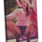 Georgia May Jagger Instagram Hot Girl Model 20x16 FRAMED CANVAS Print