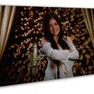 Lucy Hale Cute Girl Woman 20x16 Framed Canvas Print