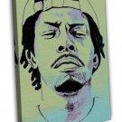 Meechy Darko Rapper Music Hip Hop 20x16 Framed Canvas Print