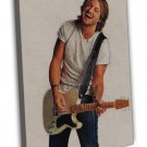 Keith Urban Art Country Music Singer 20x16 Framed Canvas Print
