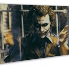 Joker Dark Knight Some People Just Want To Watch The World Burn 20x16 FRAMED CAN