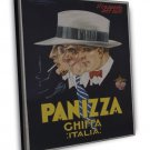 Vintage French Panizza 20x16 Framed Canvas Print