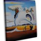 Salvador Dali Fine Art 20x16 Framed Canvas Print