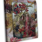 Cicely Mary Barker The Wayfaring Tree Fairy Fine Art 20x16 Framed Canvas Print