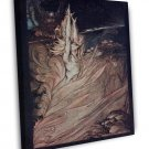 Arthur Rackham Rhinegold And The Valkyries Iii Fine Art 20x16 Framed Canvas Prin