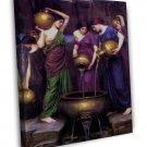 John William Waterhouse Fine Art 20x16 Framed Canvas Print