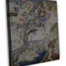 Arthur Rackham Tempest Man In The Wilderness Fine Art 20x16 Framed Canvas Print