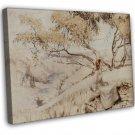 Arthur Rackham The Song Of The Lark Fine Art 20x16 Framed Canvas Print