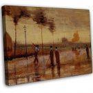 Van Gogh A Sunday In Eindhoven 20x16 Framed Canvas Print