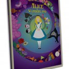 Alice In Wonderland Movie Art 16x12 FRAMED CANVAS Print Decor