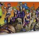 Jo Jo S Bizarre Adventure Anime 16x12 Framed Canvas Print Decor
