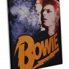 David Bowie Rock Music Star Art 16x12 Framed Canvas Print Decor