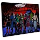 Suicide Squad Movie Art 16x12 Framed Canvas Print Decor