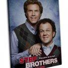 Step Brothers Movie Art 16x12 Framed Canvas Print Decor