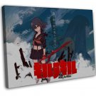 Kill La Kill Anime Art 16x12 Framed Canvas Print Decor