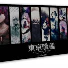 Tokyo Ghoul Japanese Anime Art 16x12 FRAMED CANVAS Print Decor