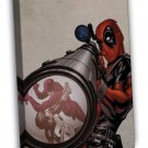 Deadpool Movie Art 16x12 Framed Canvas Print Decor