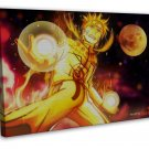 Naruto Japan Anime Art 16x12 Framed Canvas Print Decor