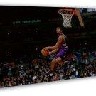 Tracy Mcgrady Basketball Star Art 16x12 FRAMED CANVAS Print Decor