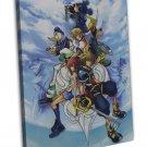 Kingdom Hearts Boy 1 2 Art 16x12 Framed Canvas Print Decor