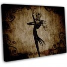 The Nightmare Before Christmas Art 16x12 FRAMED CANVAS Print Decor